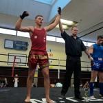 Sieg bei der Deutschen Meisterschaften in Muaythai