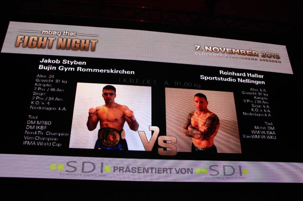 Fight Night in Dresden