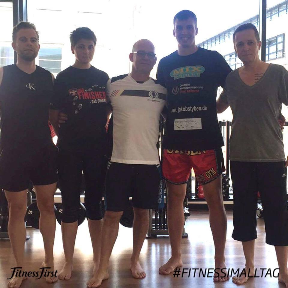 Fitness First Seminar mit Jakob Styben