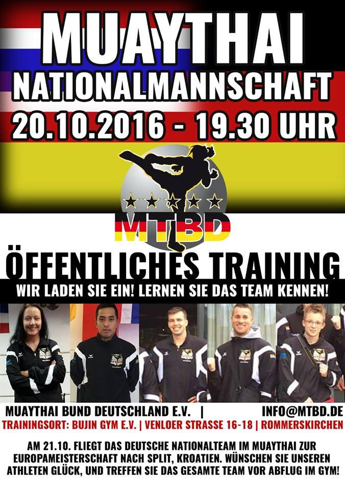 Öffentliches Training