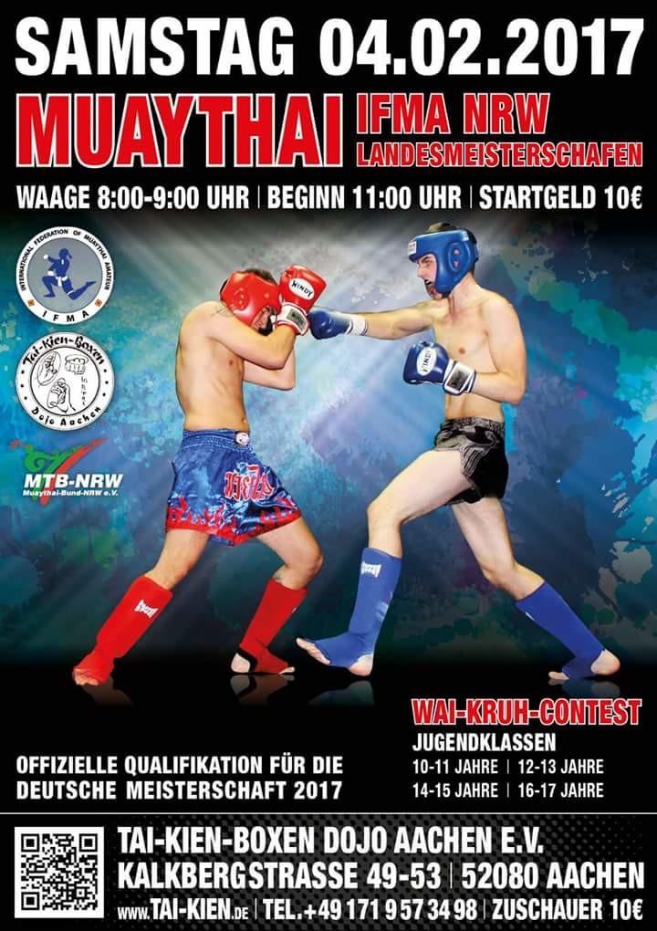 Landesmeisterschaften in Aachen