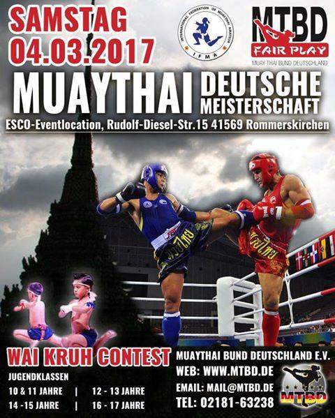 Deutsche Meisterschaften in Muaythai