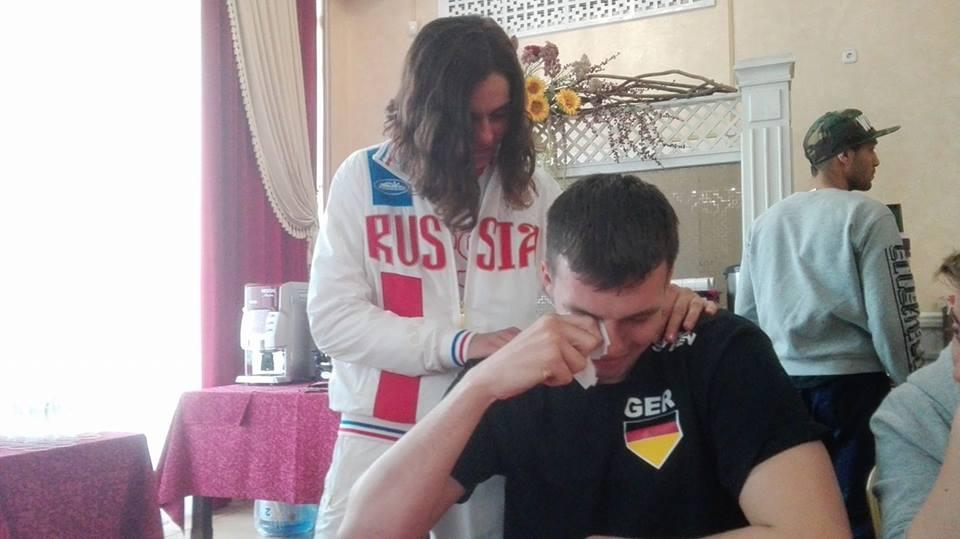 Team Deutschland, Team Russland